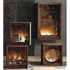 Roost Folkloric Light Boxes