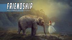 Photoshop Manipulation Tutorial - White Fairy and Elephant