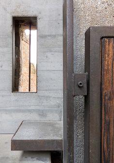 "asqimo: "" Carlo Scarpa Castelvecchio Verona - via 3 + "" Carlo Scarpa, Architecture Details, Interior Architecture, Interior And Exterior, Modernisme, Stair Detail, Adaptive Reuse, Built Environment, Brutalist"