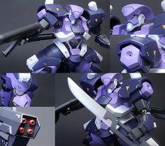 [Painted Build REVIEW] G-Tekketsu HG IBO 1/144 HYAKUREN: No.15 Big Size Images, source http://www.gunjap.net/site/?p=282793