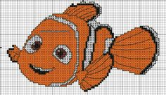 Nemo cross stitch