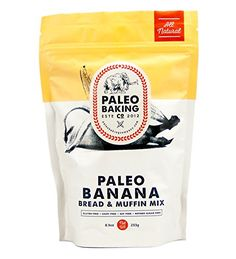 Paleo Baking Company Paleo Banana Bread Cake  Muffin Mix ** Check out the image by visiting the link.Note:It is affiliate link to Amazon.