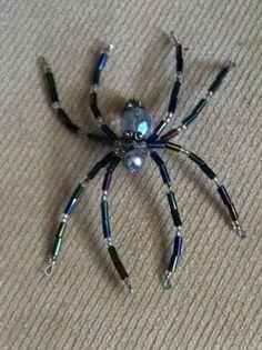 Halloween Bead Spider