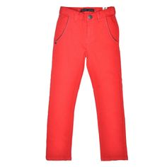 Rouge Fonce Slack Pants by IKKS