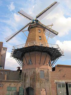 Windmills in Gelderland  Concordia molen 7 april 2008