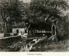 Greece-Ελλάδα-Μαντούδι. Πανδοχείο 1887.