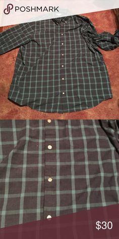 Darker Blue Flannel Size 3XL. Brand new. Sonoma Tops Button Down Shirts