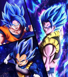 dragon ball super by on DeviantArt - Gogeta, Dragon Ball Super - Cartoon Shows, Cartoon Art, Dragon Ball Z, Gogeta And Vegito, Anime Manga, Illustrations Posters, Drawings, Videl Dbz, Super Vegeta