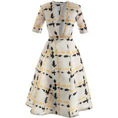 Polka-dot Silk Crepe De Chine Midi Dress - Cream Petar Petrov WBrFHfM6Iu