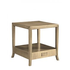 Baker Lexicon Morgen Side Table Sale 1305 (has hidden drawer)