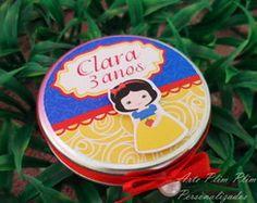 Latinha Personalizada - Branca de Neve