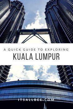 Twin Towers - Malaysia -  Top Things To Do In Kuala Lumpur - Malaysia  #Petronas #Towers