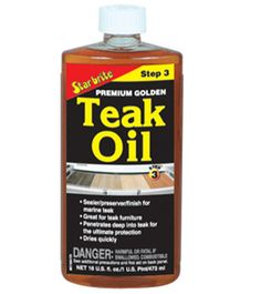 Star brite's Teak Oil formula combines special polymers and Tung Oil (extra long-lasting finish formula) Natural Oils, Natural Wood, Boat Cleaning, Refined Oil, Teak Oil, Teak Furniture, Canadian Tire, Wood Sizes, Golden Color