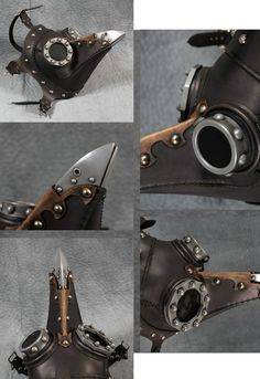 Steampunk Plague Doctor Mask Dr. Beulenpest by TomBanwell on Etsy