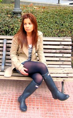 Tights and Wellingtons