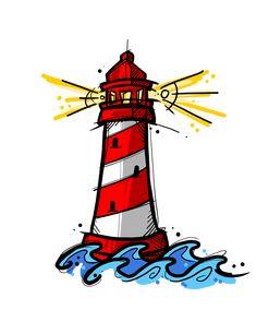Terre En Vue ! 🏝  On adore tous les phare des bords de mer, ils sont fascinants ! Quoi de plus réconfortant que d'apercevoir les lumières du phare lorsqu'on est perdu en mer ? Encore plus quand celles d'Alexandrie font chavirer les papillons de ma jeunesse. Creative Artwork, Undertale Au, Graffiti Art, Black Art, Drawings, Bujo, Collages, Disney, Naruto