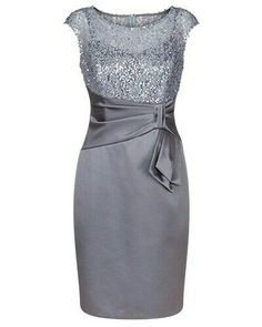 grey sequins mother of the bride dresses, dresses for women, women's prom dresses, 2017 new arrival prom dresses, prom dresses with sash Satin Dresses, Elegant Dresses, Pretty Dresses, Beautiful Dresses, Lace Dress, Mother Of Groom Dresses, Mothers Dresses, Mother Of The Bride, Dresses For Women