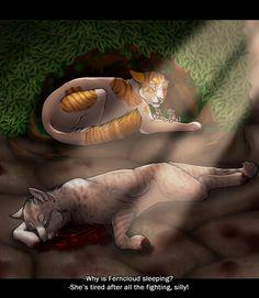 The Last Hope :Ferncloud's Death: by ArtistStallion.deviantart.com on @DeviantArt