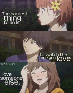 Anime quote  Ao Haru Ride