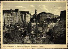 Wilmersdorf, Bayerischer Platz und Innsbrucker Straße, Park  #Berlin