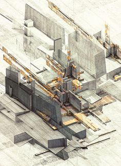 Structures 2 by atelier olschinsky , via Behance