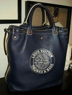 ♥♥♥ Louis Vuitton Tobago Shoe Bag, men's S/S 2006 runway collection. Vuitton Bag, Louis Vuitton Handbags, Tote Handbags, Purses And Handbags, Tote Bags, Lv Bags, Handbags Online, Fashion Handbags, Fashion Bags