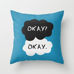 The Fault in Our Stars Poster 01 Throw Pillow by Misery - $20.00 << I NEED THIS!!!!