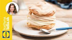 Karamelové veterníky ✨   Veronika Bušová   Kuchyňa Lidla Lidl, Catering, Food And Drink, Ice Cream, Cookies, Breakfast, Sweet, Youtube, Gluten