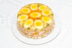 Šunka v aspiku so zeleninou My Favorite Food, Favorite Recipes, Polish Recipes, Polish Food, Appetisers, Charcuterie, Appetizer Recipes, Food To Make, Gelato