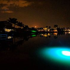 illumisea_aquatic_lights Amazing moon and iris dock light view captured by @stephenmealy Thanks for the picture & IllumiSeau0027s Underwater Dock Lights are superior! This is our Mega ...