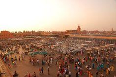 2. Djemaa el-Fna, Marrakech, Morocco (2001)