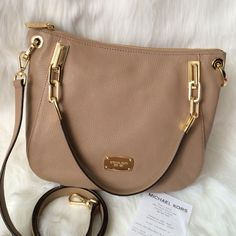 Michael Kors Brooke Shoulder Tote Brand New with Tag. Dust bag not included MICHAEL Michael Kors Bags