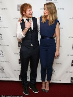Bonding: The Edge Of Tomorrow actress and the Thinking Out Loud singer appeared to be hitt...