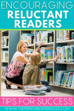 Do you have students who just don't love to read? Instead of settling for a reading battle, try out these ways to encourage reluctant readers at school and at home. You'll find tips on taking an interest inventory, giving your students choice, setting up an environment for reading, using reading logs, setting up a listening center, comprehension strategies, and more. #iteachk #kindergartenteacher #kindergartenclassroom #reading
