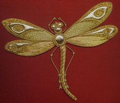 goldwork dragonfly - Google Search