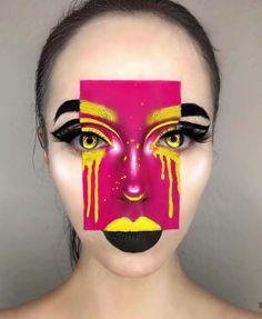 OFRA Cosmetics Fixline gel liner in black, - Make Up Art - Creative Makeup Looks, Unique Makeup, Cute Makeup, Colorful Makeup, Cool Makeup Looks, Natural Makeup, Makeup Inspo, Makeup Inspiration, Makeup Ideas