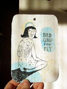 Irina Troitskaya - Bird Girl Can Fly