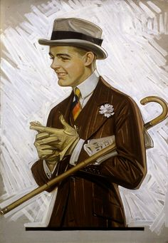 The Art of J. Leyendecker - Norman Rockwell Museum - The Home for American Illustration Norman Rockwell, American Illustration, Illustration Art, Mode Vintage, Vintage Men, Vintage Style, Jc Leyendecker, Illustrations Vintage, Retro