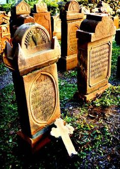 Cemitério parque, em Nova Petrópolis, RS, Brasil.