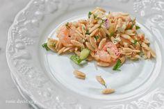 shrimp roasted salad