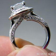 #ScottKay #engagementrings #weddingrings   www.goldcasters.com