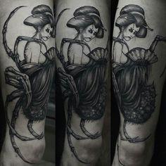 Jorogumo tattoo