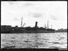 7 million high quality photographs and illustrations from history. Dazzle Camouflage, Maritime Museum, Razzle Dazzle, World War Ii, Wwii, Free Images, Sailing, Coastal, History