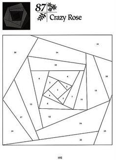 101 Foundation-Pieced Quilt Blocks 102 | by Bete Arteira2010