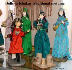 Khakas dolls