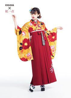Traditional Kimono, Traditional Outfits, Art Test, Yukata Kimono, Girl Thinking, Japan Fashion, Women's Fashion, Japanese Outfits, Character Outfits