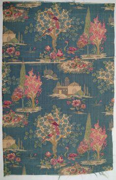 Silk, 1920-9 #fabrics #prints