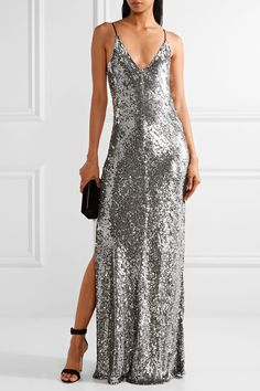 Juan Carlos Obando | Sequined tulle gown | NET-A-PORTER.COM
