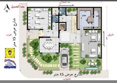 40x60 House Plans, House Layout Plans, My House Plans, Floor Plan Layout, Family House Plans, House Layouts, Minimal House Design, Duplex Plans, Villa Plan