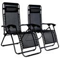 Deluxe Zero Gravity Outdoor Folding Recliner (set Of 2)   10368035  Zero Gravity Lawn Chair Recliner